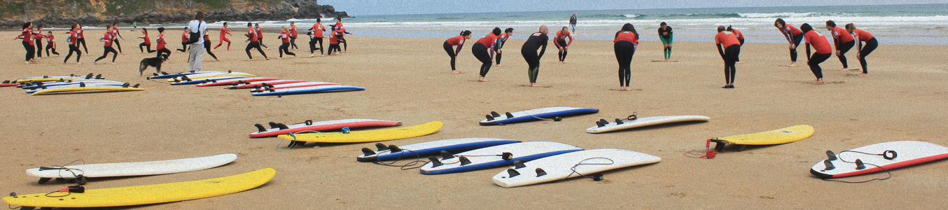 Surf camp Berria- Grupos