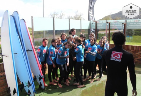 campamento de surf en berria puente de mayo 2014