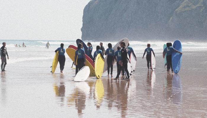 Berria Surf Camp - Menores - Watsay