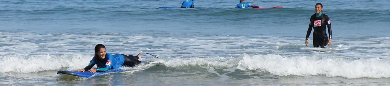Cursos de surf cantabria - Watsay