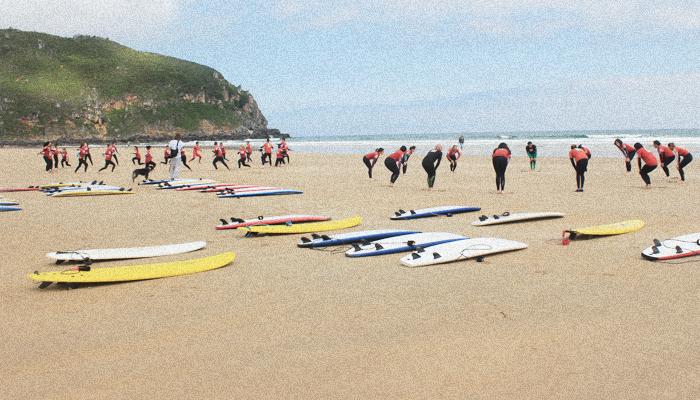 Surf camp Berria. Promos especiales para Grupos