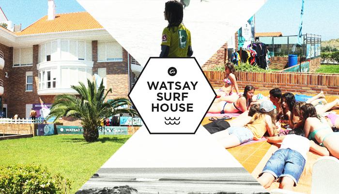 Surf House Watsay playa de Berria Cantabria
