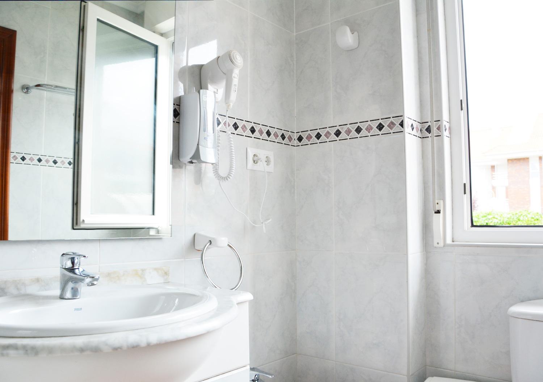 Baño completo en cada habitación