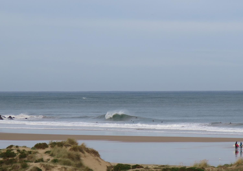 Las olas de Berria