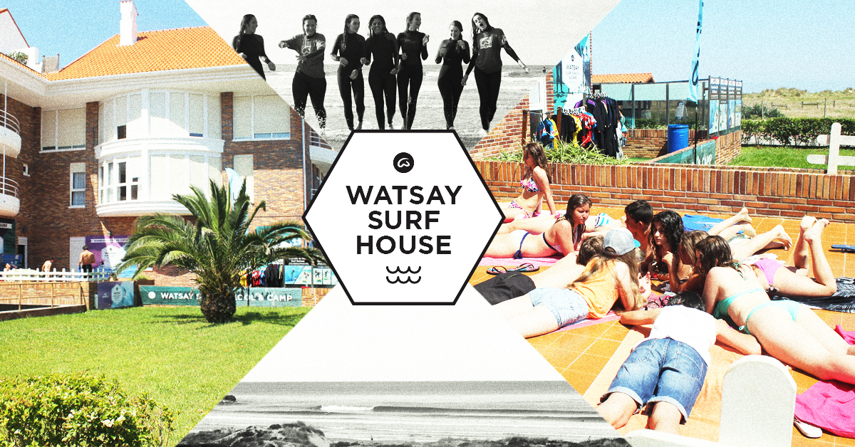 Surf House / Surf Hostel cantabria - Watsay surf school