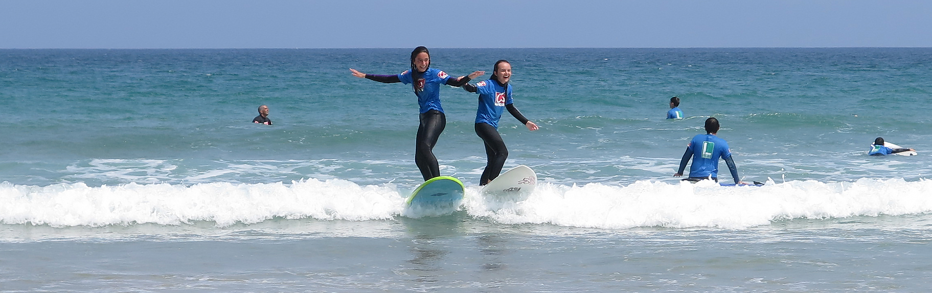 Campamentos de Verano de Surf