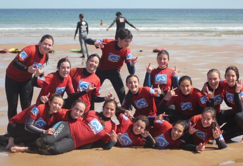 Grupo Mayo 2016 campamentos de surf