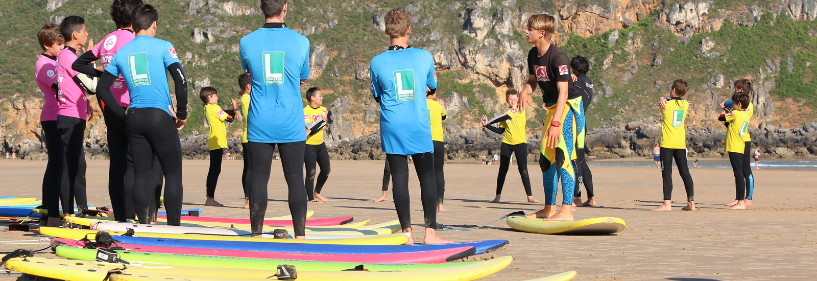 Surf camp Julio
