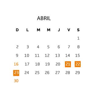 abril-fin-de-semana-21-23-abril