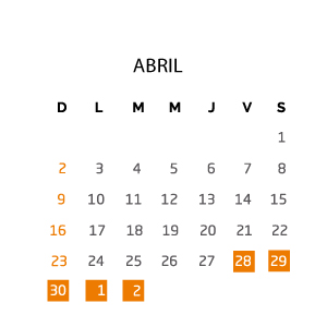 abril-fin-de-semana-28-abril-02-mayo