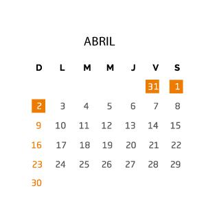 abril-fin-de-semana-31-marzo-02-abril