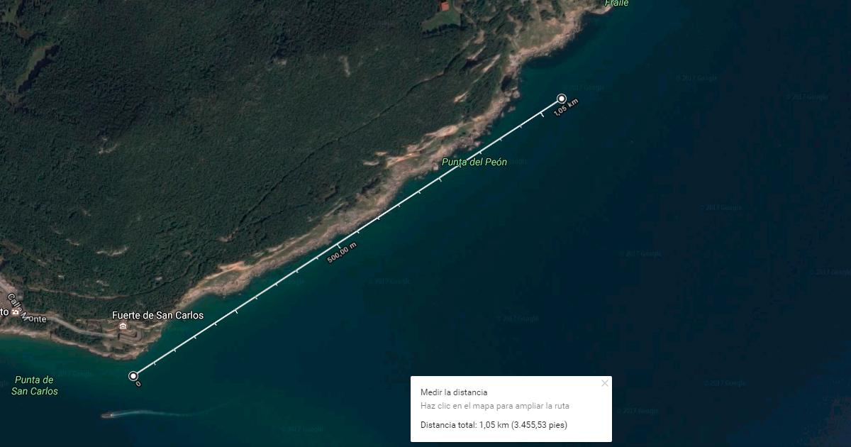 La ola más larga de España - La fortaleza Santoña, Cantabria