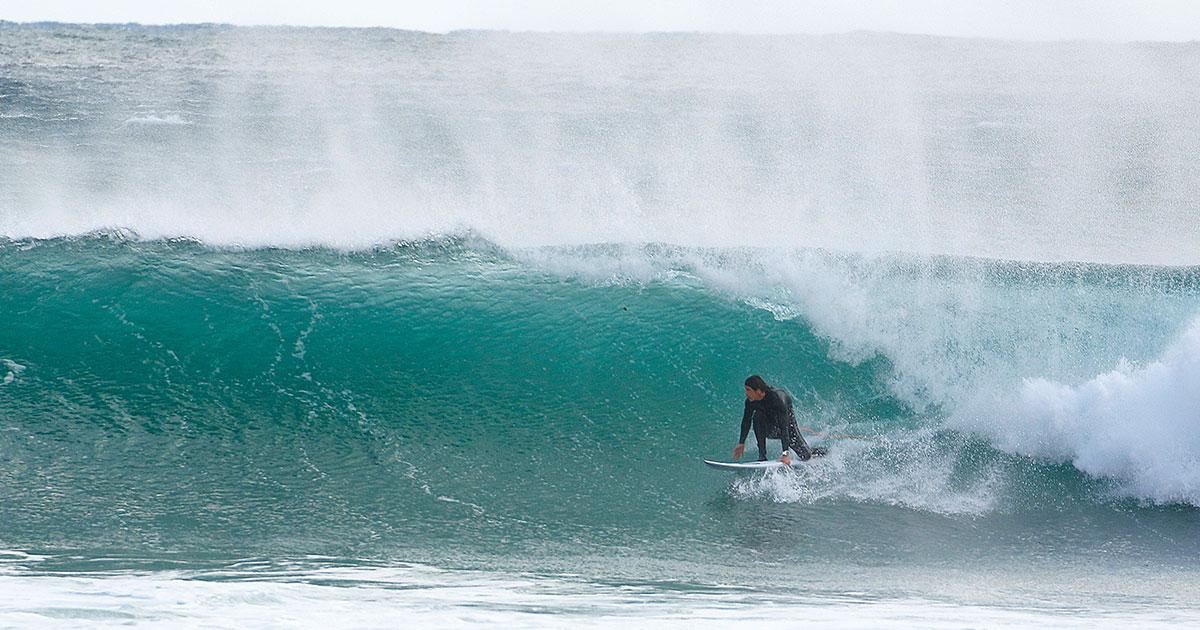 El viento - aprender a hacer surf