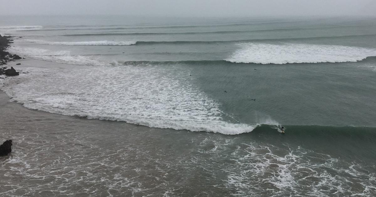 La ola más larga de España y de Europa
