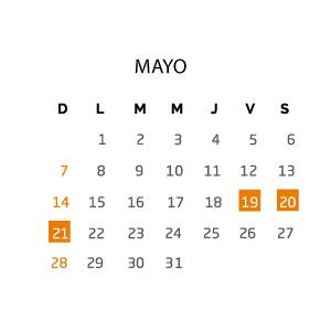 mayo-fin-de-semana-19-21-mayo