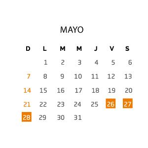 mayo-fin-de-semana-26-28-mayo
