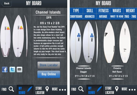 Surfboard Finder APP