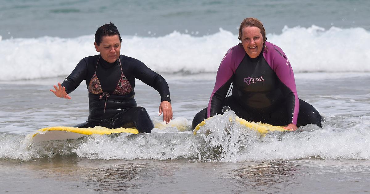 Iniciación al surf en edades avanzadas