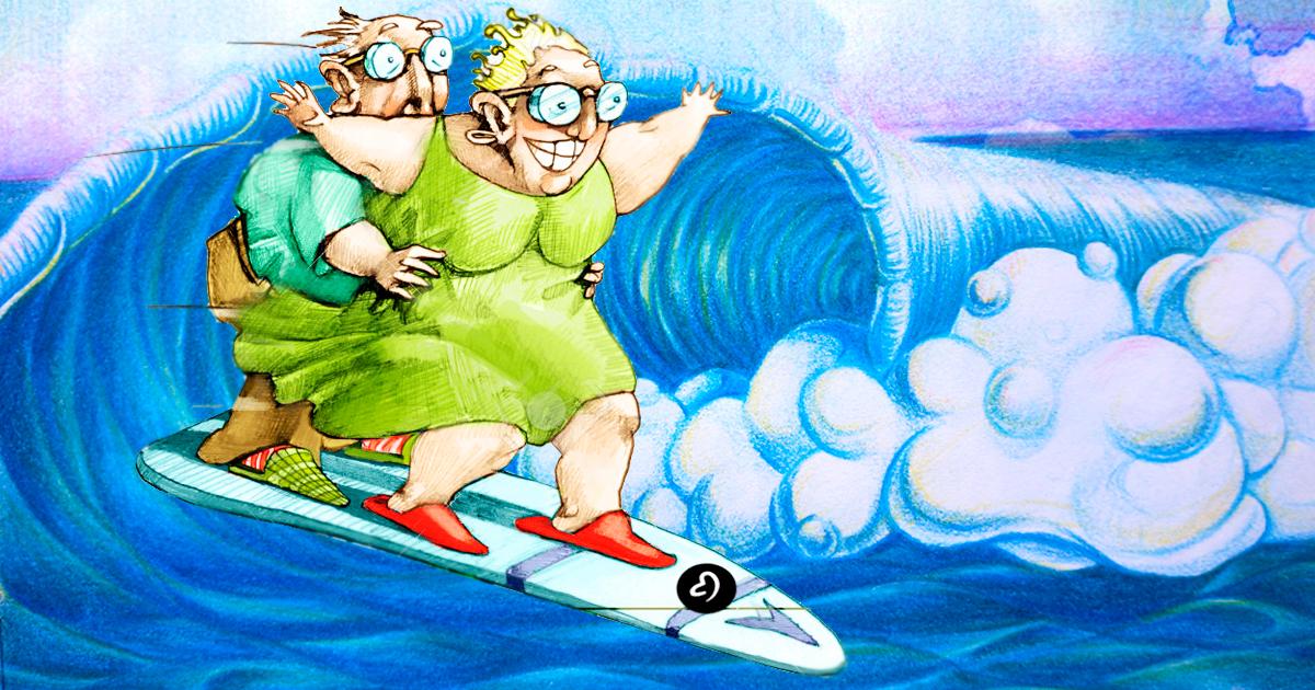 Iniciarse en el surf a una edad avanzada