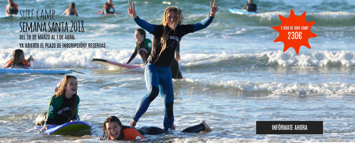 Surf Camp Semana Santa 2018 Cantabria