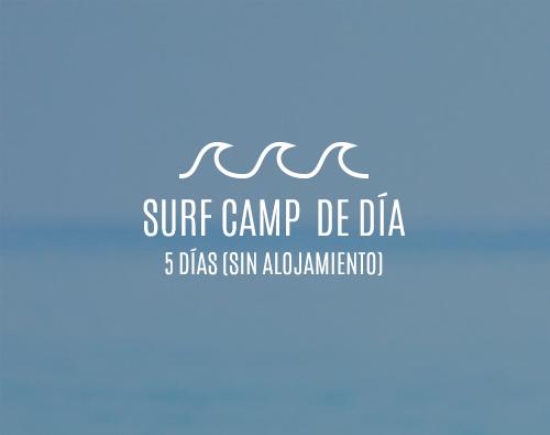 Campamentos de surf de día