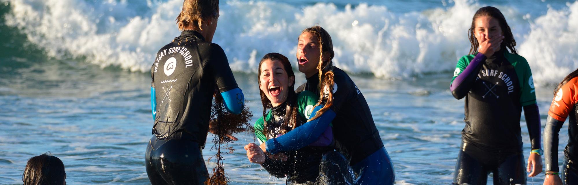Campamentos de surf agosto