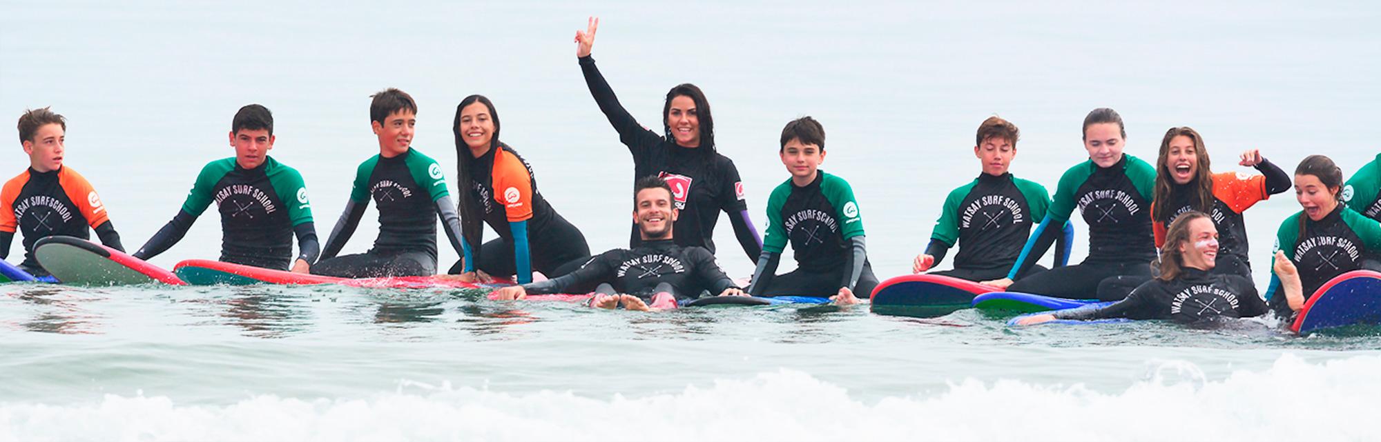 Cursos de surf - Clases de surf - en cantabria