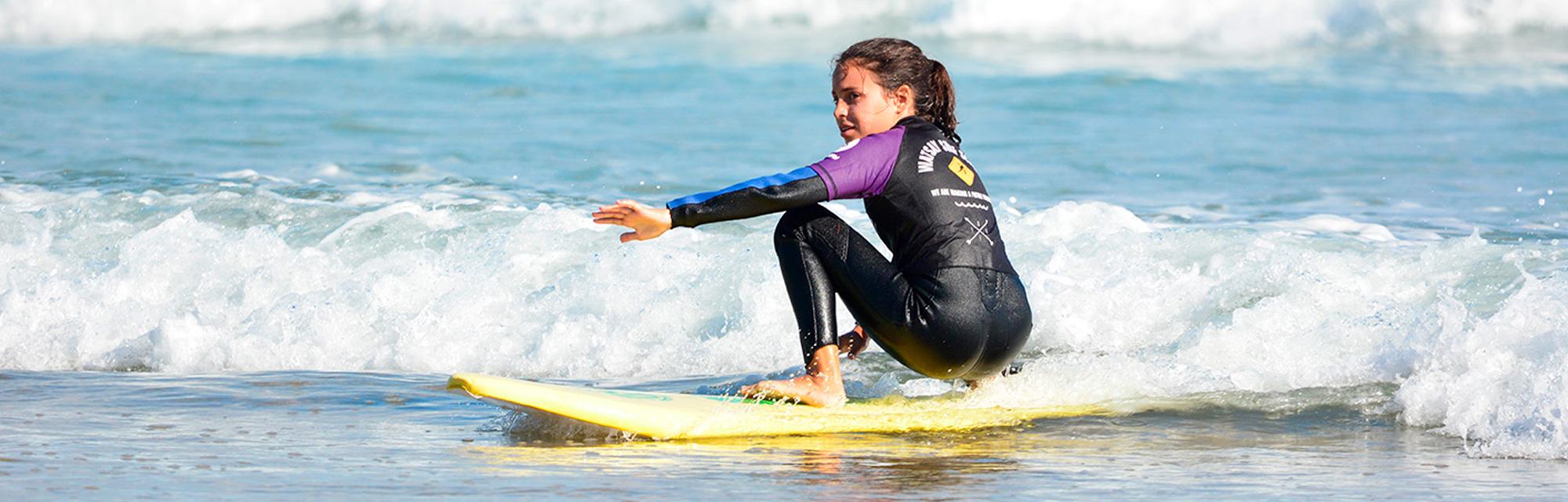 Surf camp, campamentos de surf de día