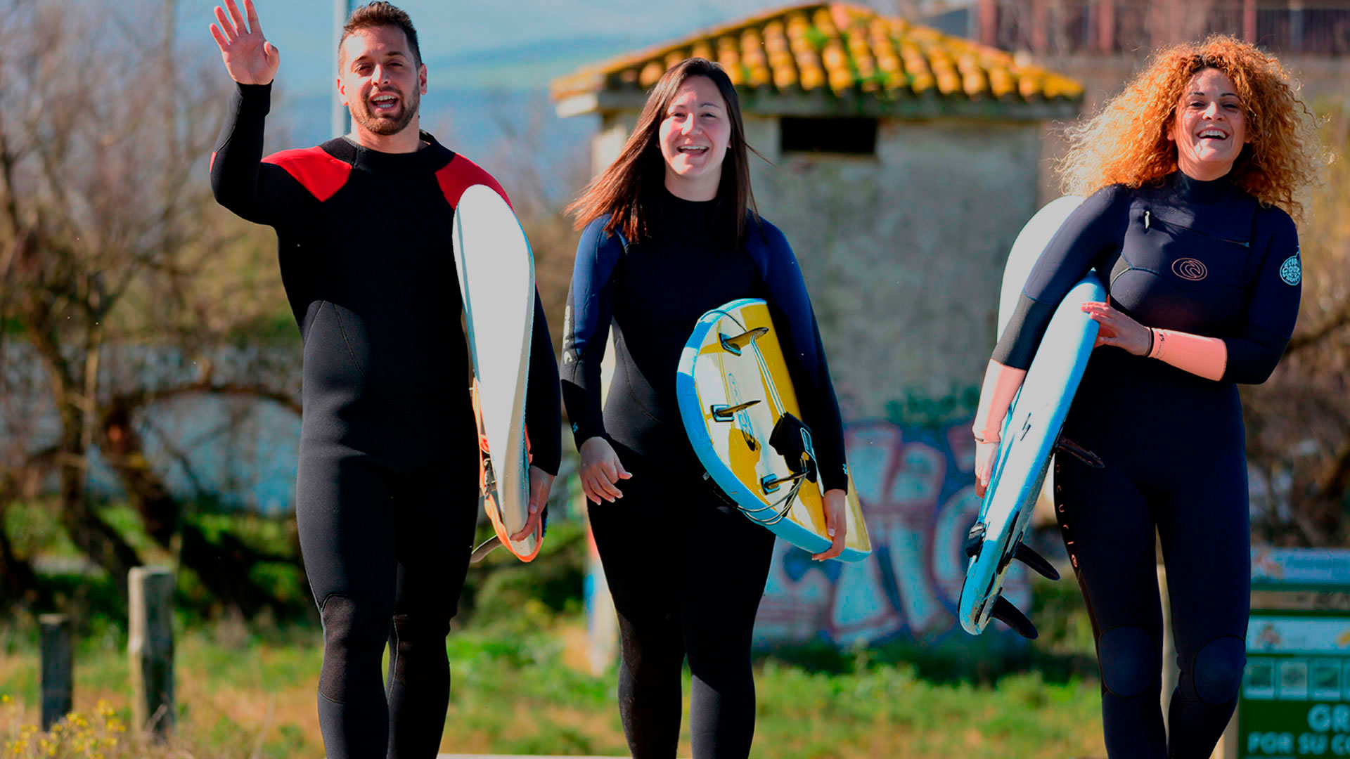 PUENTE DE MAYO 2018 - SURF CAMP