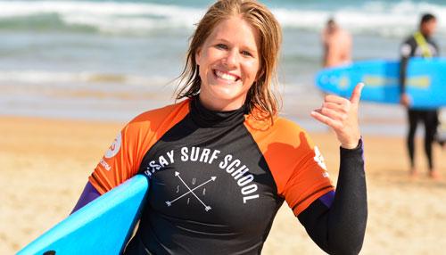 Cursos de surf para adultos