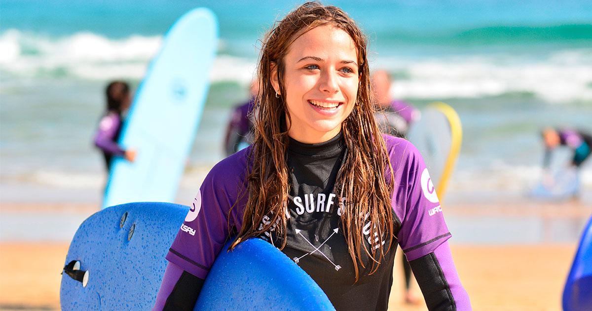 Surf Camp adultos - Campamentos de surf