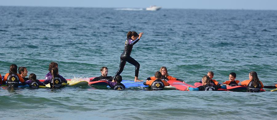 Campamentos de surf menores -Surf camp menores