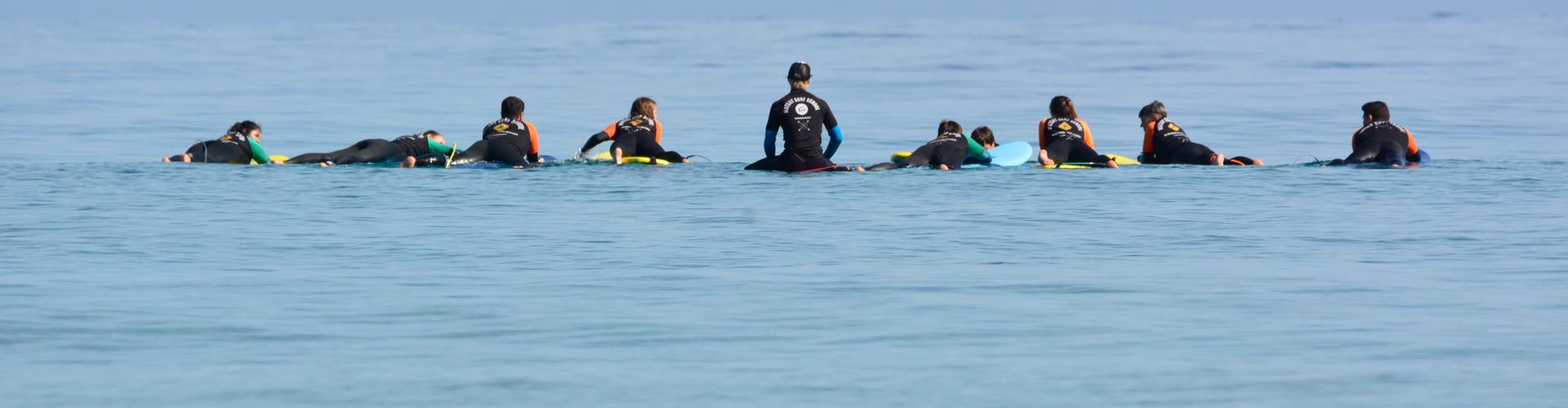 Plan amigo surf camps adultos
