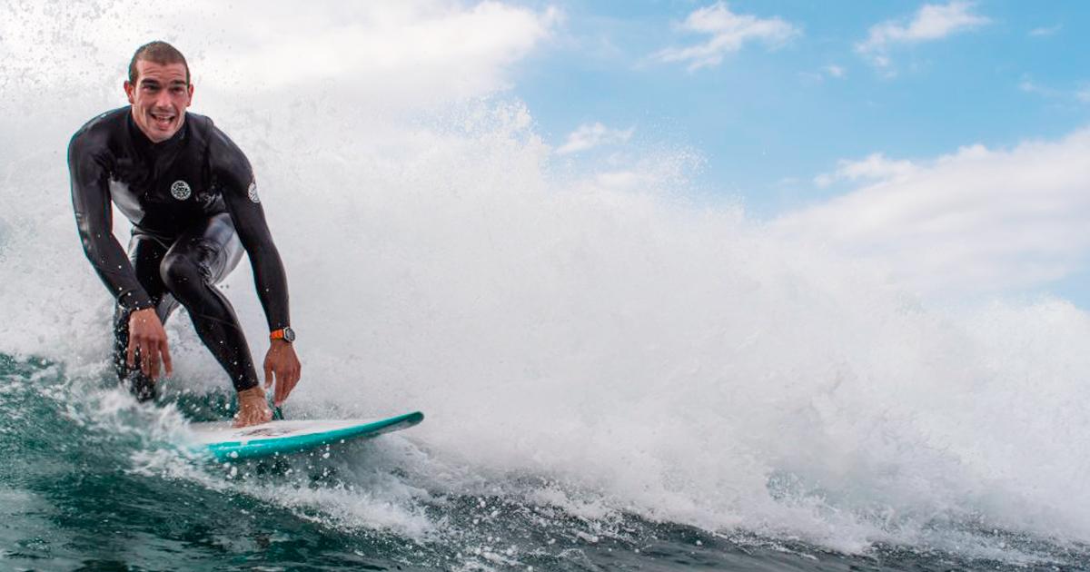 La importancia de una sonrisa en el surf