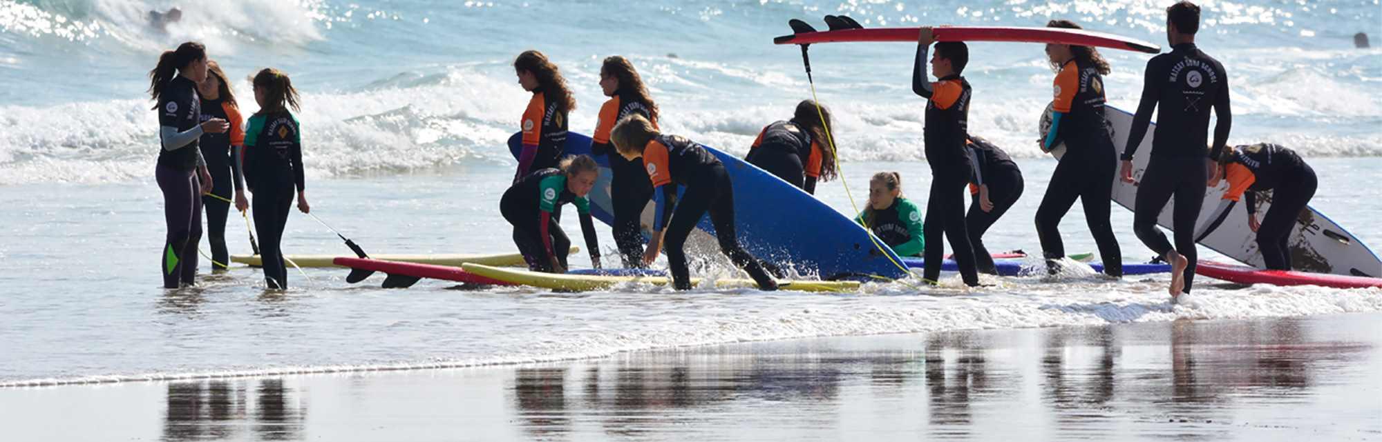 Watsay tu escuela de surf en Cantabria