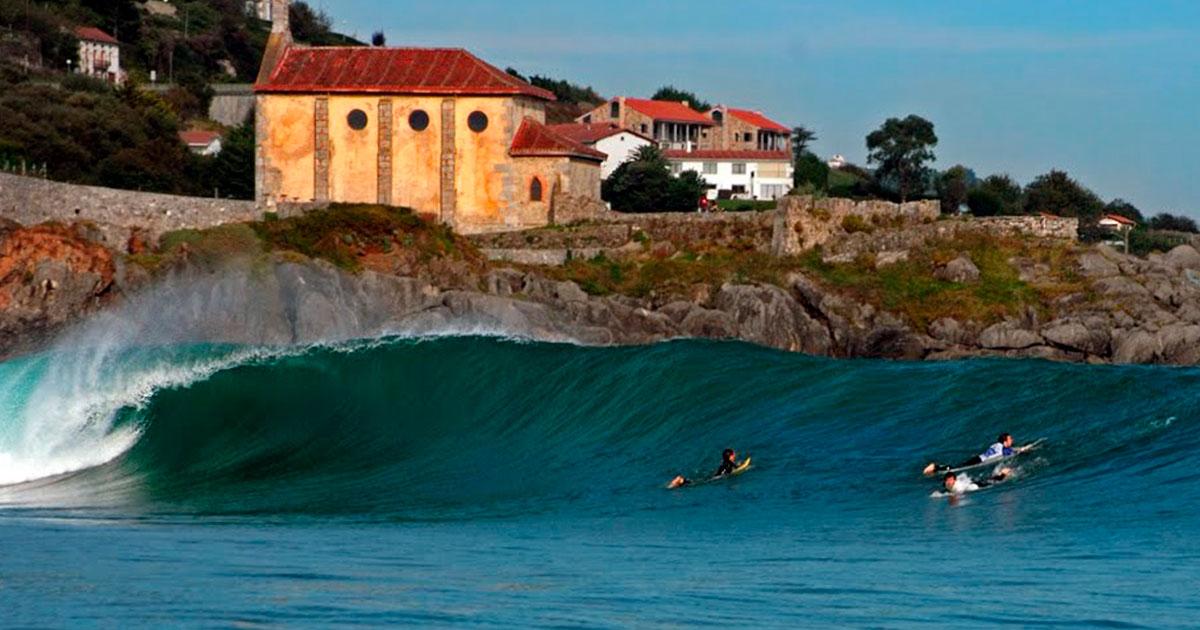 mundaka: surf en el norte de España
