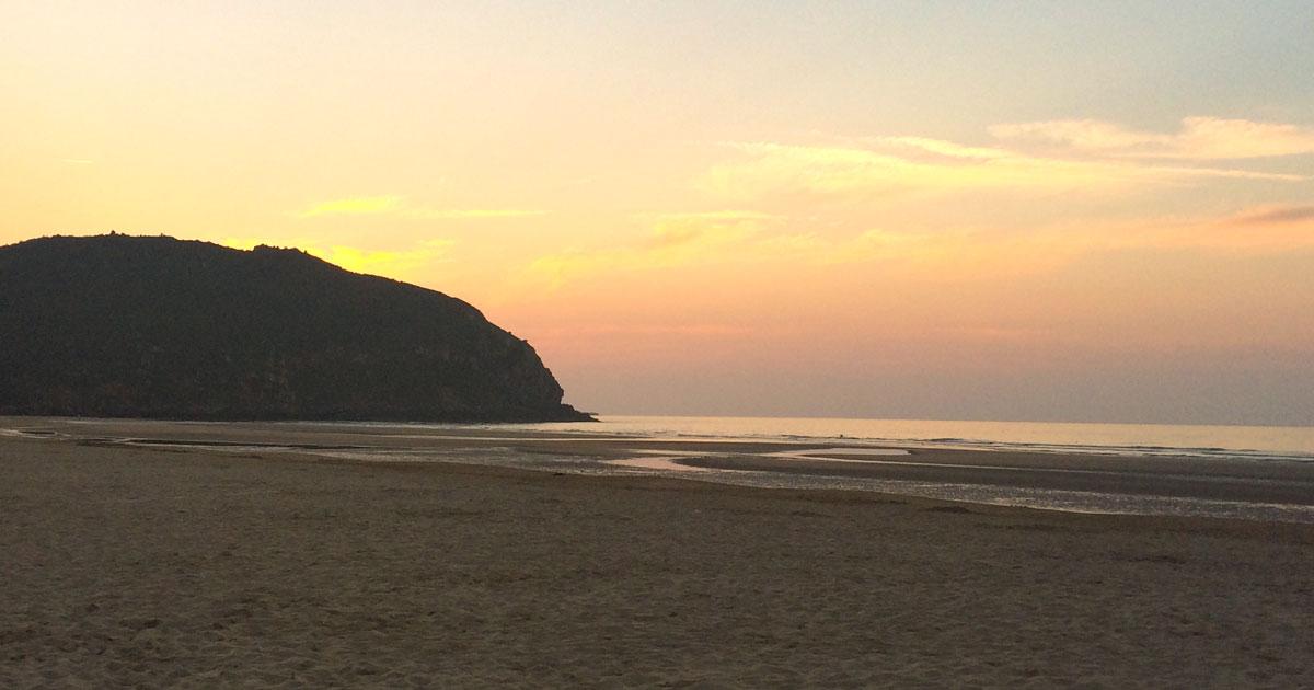 Playa de Berria - Hacer surf