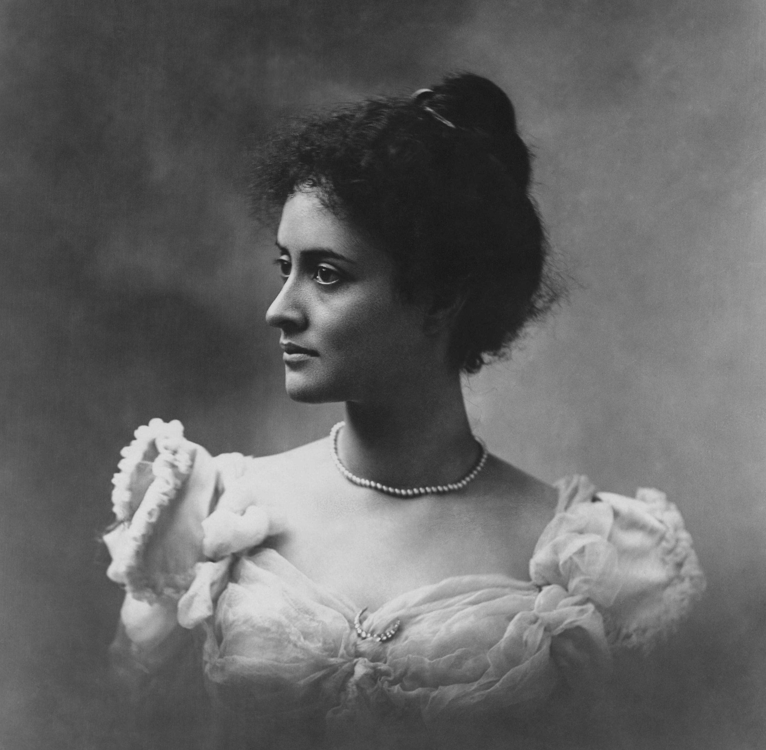 Princesa Victoria Ka`iulaini año 1897